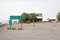 高速公路CA178标志 库存图片