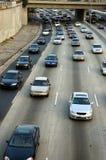 高速公路la 免版税库存照片