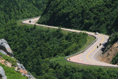 高速公路lookoff绕 免版税图库摄影