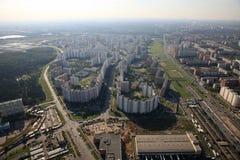 高速公路nosovikhino 免版税图库摄影