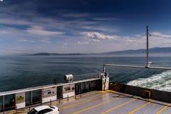 高速渡轮车运输-土耳其 免版税库存照片