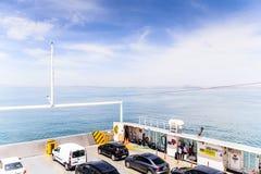 高速渡轮车运输-土耳其 库存照片