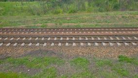 高速移动铁轨的看法  影视素材
