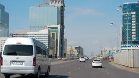 高速道路在阿斯塔纳 股票录像