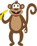 兴高采烈的猴子作为2016年的标志 免版税库存图片