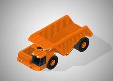 高采矿产业的设备 皇族释放例证