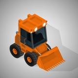 高采矿产业的设备 库存例证