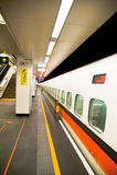 高长期一张铁路运输副速度t台湾 库存图片