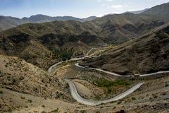 高阿特拉斯山脉在摩洛哥 图库摄影