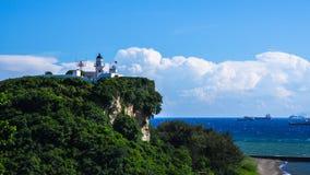 高雄市在台湾 灯塔 免版税图库摄影
