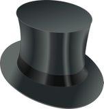 高顶丝质礼帽 库存图片