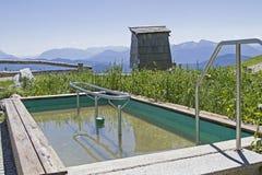 高高山Kneipp水池 免版税库存图片