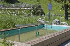 高高山Kneipp水池 库存照片