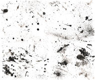 高Res飞溅声纹理2 免版税库存照片