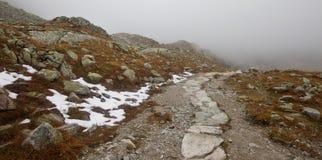 高Tatra山,波兰 库存照片