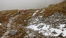 高Tatra山,波兰 免版税库存照片