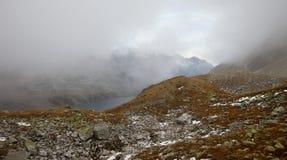 高Tatra山,波兰 图库摄影