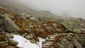 高Tatra山,波兰 免版税图库摄影