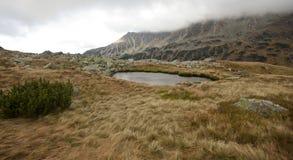 高Tatra山,波兰 库存图片