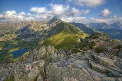 高Tatra山 库存图片