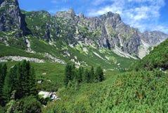 高Tatras在斯洛伐克 库存照片
