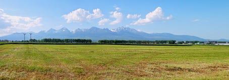 高Tatras斯洛伐克 库存图片