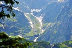 高Tatras风景在斯洛伐克 库存图片