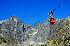 高Tatras -斯洛伐克 免版税库存照片