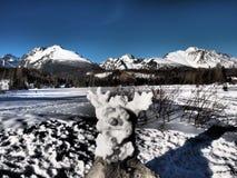 高Tatras 2015年斯洛伐克 免版税图库摄影