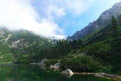 高Tatras -风景 库存照片