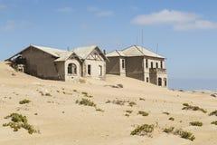 鬼城Kolmanskop,纳米比亚 库存图片