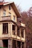 鬼的房子 免版税库存图片