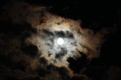 鬼的月亮 库存图片