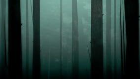 鬼的森林圈 向量例证