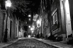 鬼的波士顿 免版税库存照片