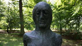 鬼的雕塑 免版税库存照片