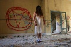 鬼魂和黑暗的象征学 免版税库存图片