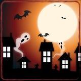 鬼魂在城镇里 免版税库存照片