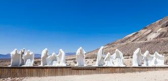 鬼魂在沙漠 免版税库存照片