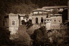 鬼魂城堡 免版税库存照片