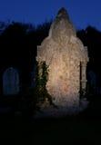 鬼魂墓碑万圣节 免版税库存照片