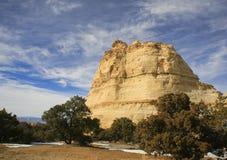 鬼魂岩石,犹他,美国 免版税库存图片