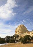 鬼魂岩石,犹他,美国 库存图片