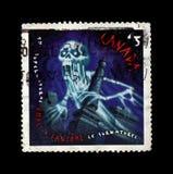 鬼魂,加拿大,大约1997年, 库存照片