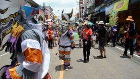 鬼魂Festiva在泰国 影视素材
