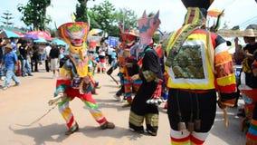 鬼魂Festiva在泰国 股票录像