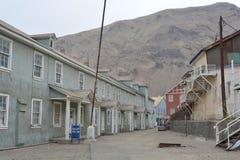 鬼魂Sewell,智利采矿镇  免版税库存图片