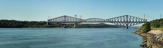 魁北克大桥 库存照片