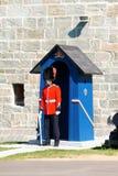 魁北克市Citadelle在加拿大 库存照片