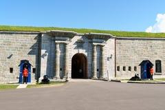 魁北克市Citadelle  免版税库存照片